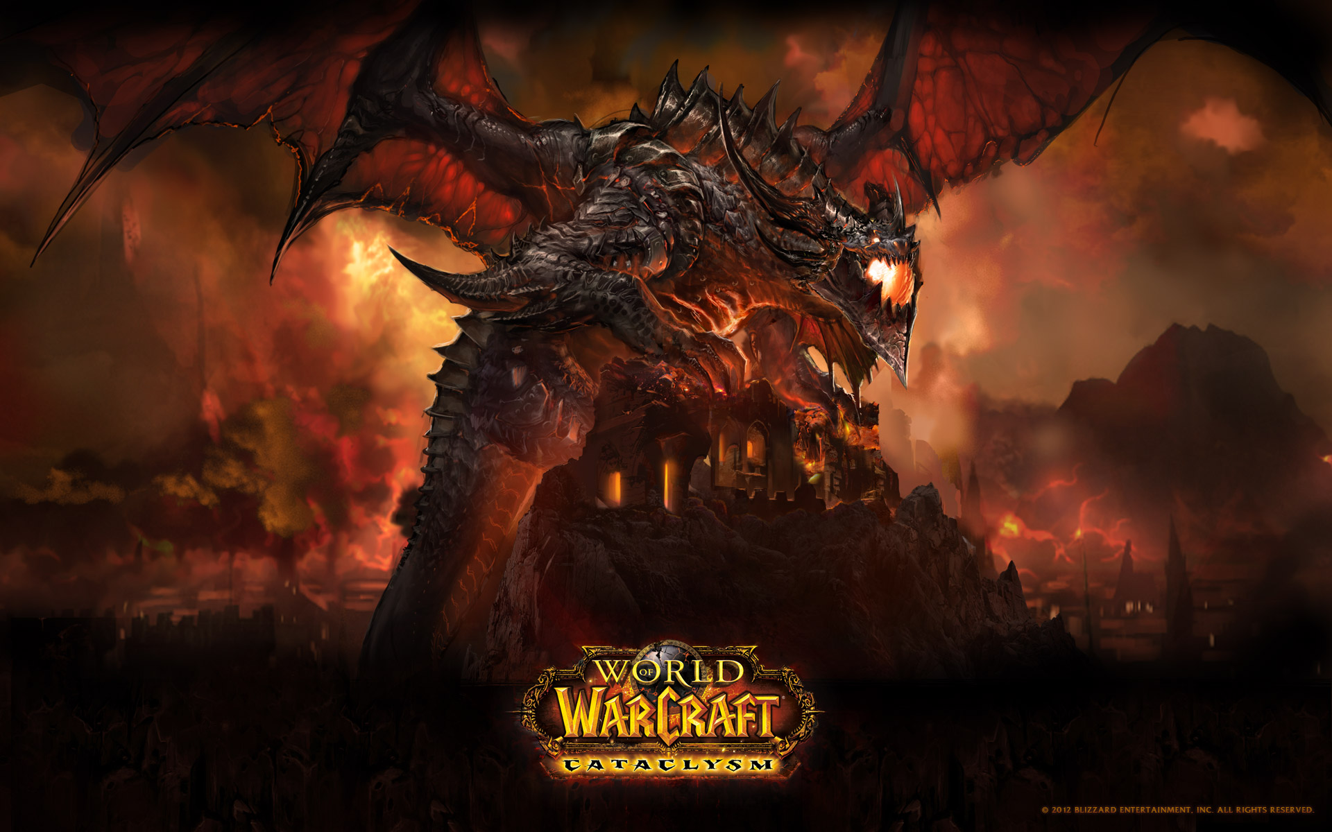 Tapeta ke hře World of Warcraft (WoW)